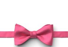 Bright Fuchsia Pre-Tied Bow Tie