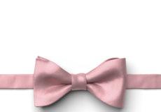 Dusty Rose Pre-Tied Bow Tie