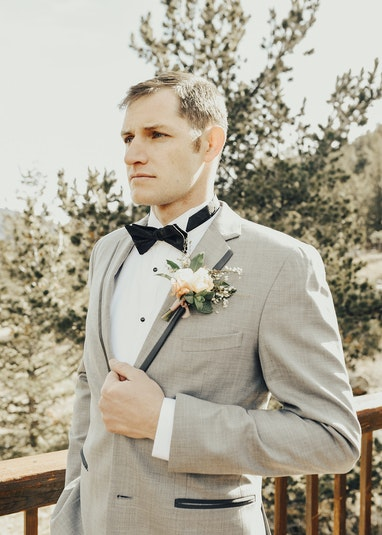 Light Gray Tuxedo