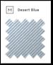 desert blue swatch card