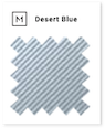desert blue swatch card