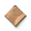 Bronze Pocket Square
