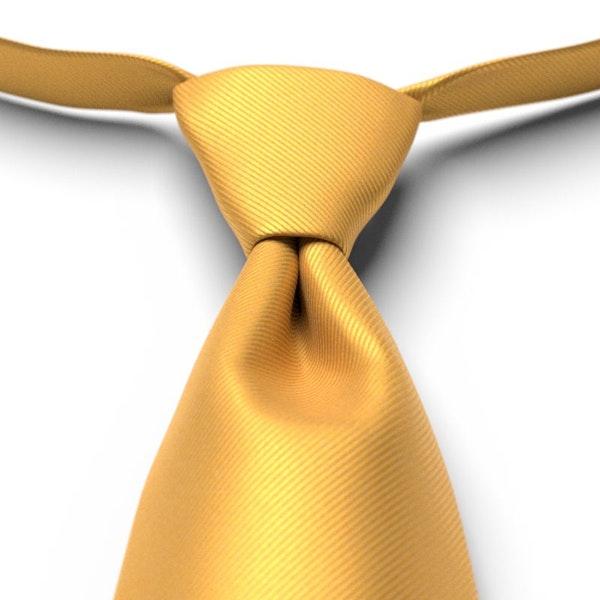 Saffron Pre-Tied Tie