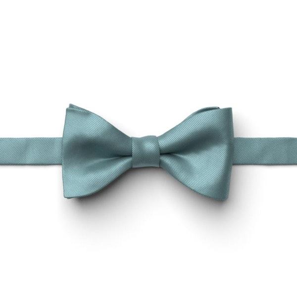 Teal Blue Pre-Tied Bow Tie