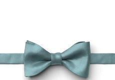 Teal Blue Pre-Tied Bow Tie