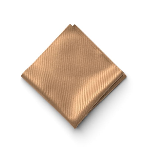 Bronze Pocket Square