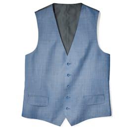 Postman Blue Suit Vest
