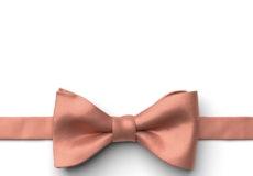 Desert Coral Pre-Tied Bow Tie