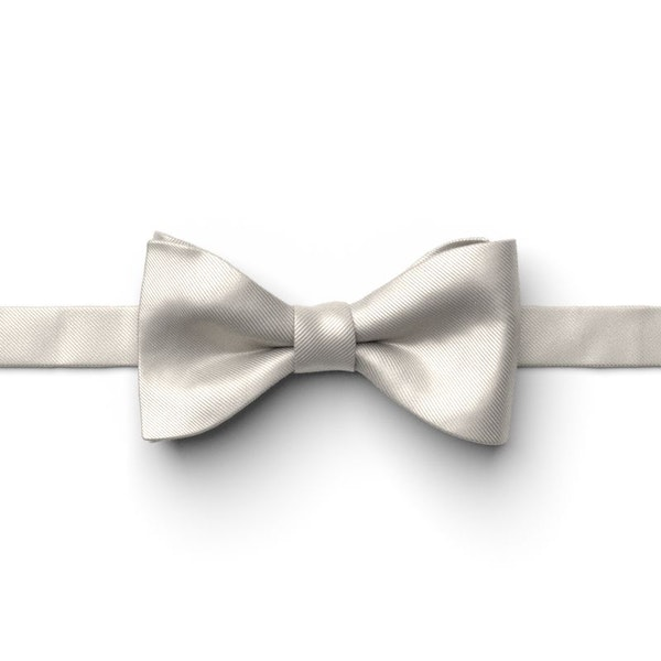 Sterling Pre-Tied Bow Tie