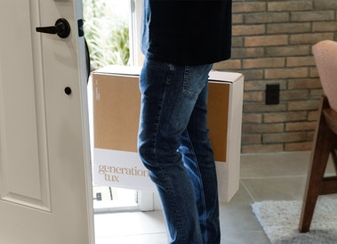 Formalwear Rental Home Delivery Box