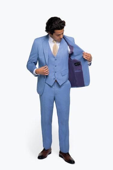 Paul Rodriguez in Generation Tux Light Blue Suit