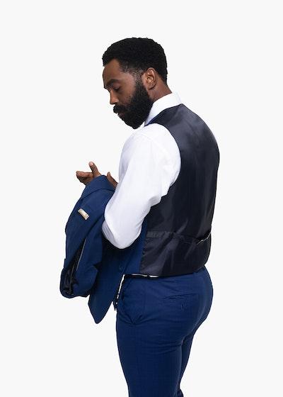 Bright Blue Suit