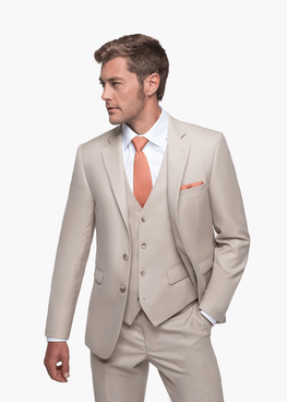 British Tan Suit