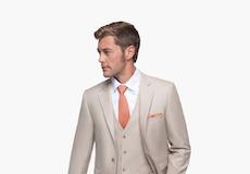 British Tan Suit