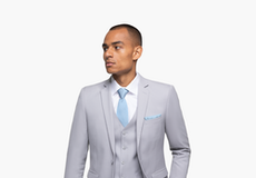 Cement Gray Suit