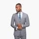 Gray Sharkskin Suit