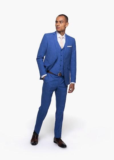 Indigo Blue Suit