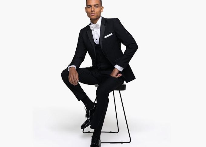Generation Tux in black notch tuxedo