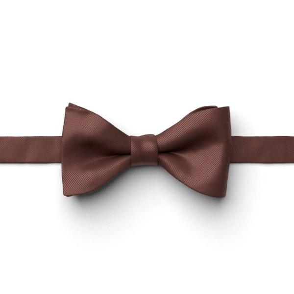Cognac Pre-Tied Bow Tie