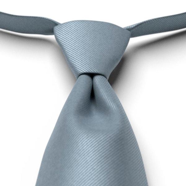 Dusty Blue Pre-Tied Tie
