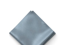 Dusty Blue Pocket Square