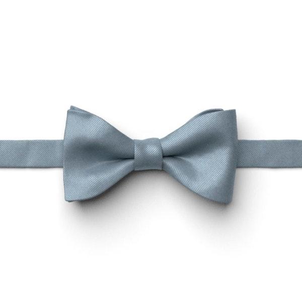 Dusty Blue Pre-Tied Bow Tie