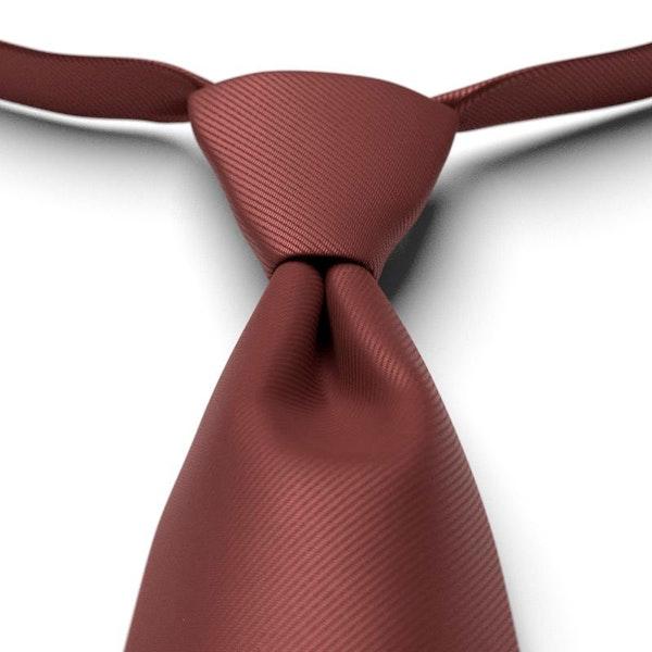 Cinnamon Pre-Tied Tie