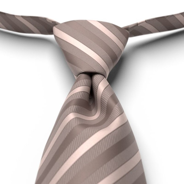 Portobello Striped  Pre-Tied Tie