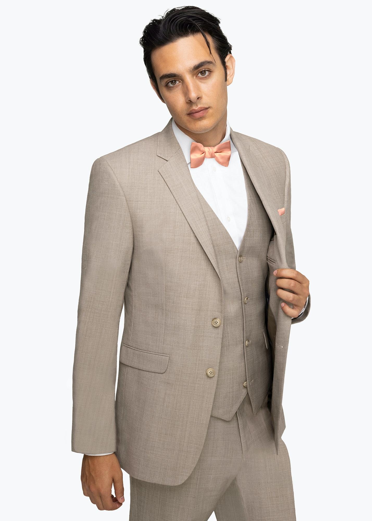 Model in Allure Beige Suit