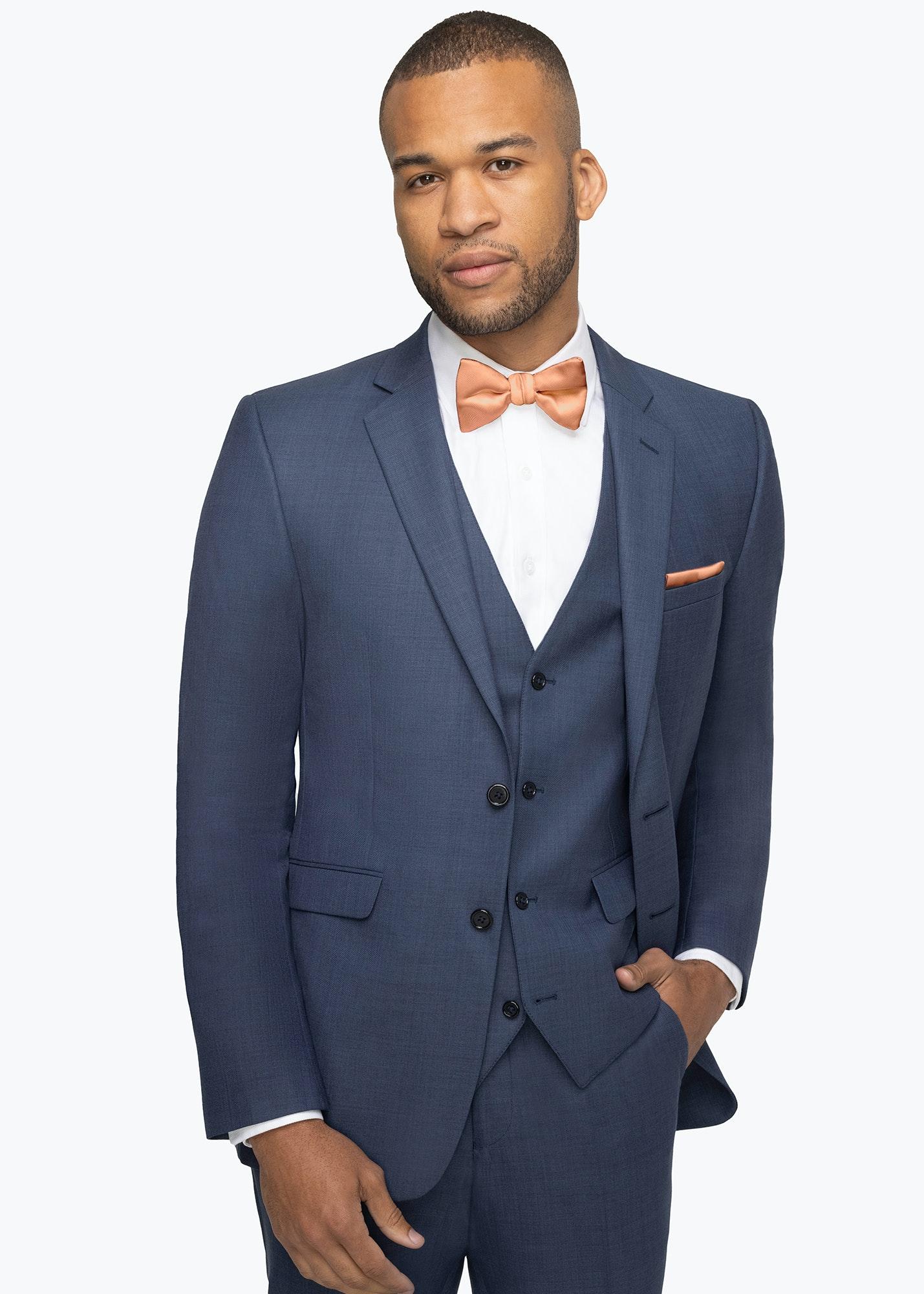 Model in Allure Dark Blue Suit