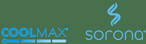 Coolmax and Sorona Logos