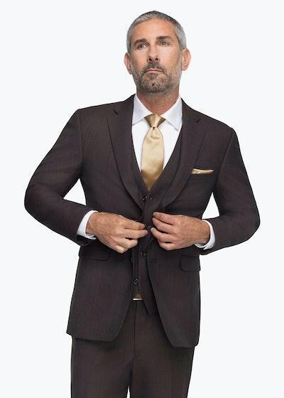 Allure Dark Brown Suit