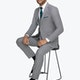 Allure Light Gray Suit