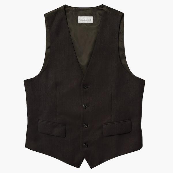 Allure Dark Brown Suit Vest