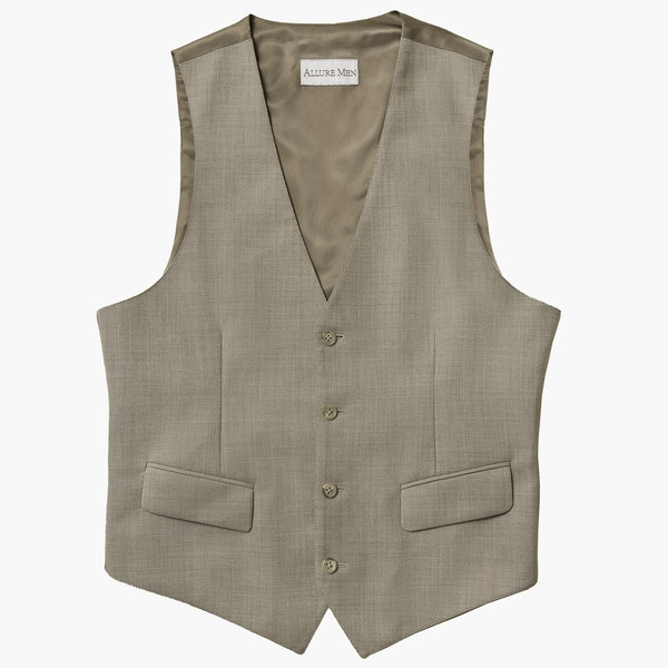 Allure Beige Suit Vest