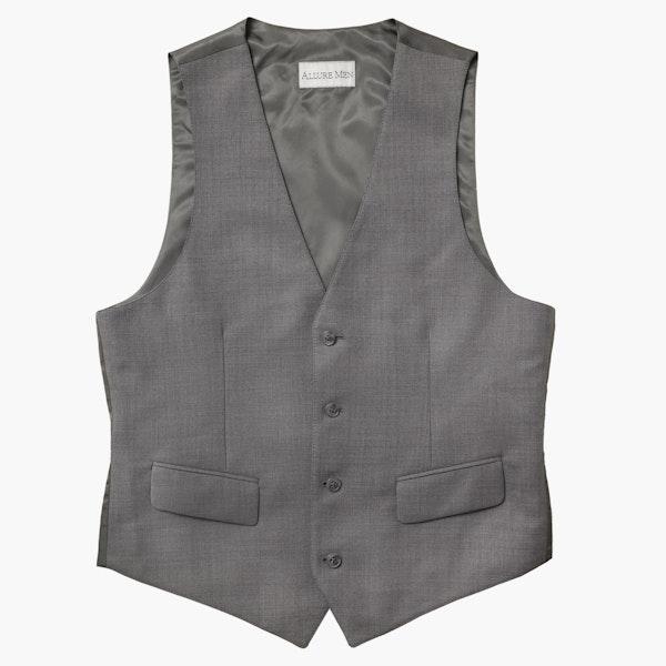 Allure Light Gray Suit Vest