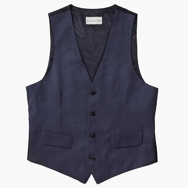Allure Dark Blue Suit Vest