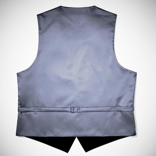 Pewter Paisley Vest
