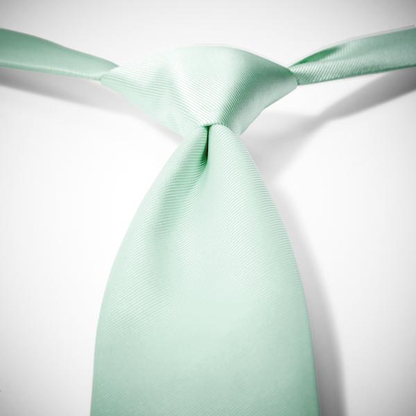 Mint Pre-Tied Tie