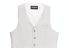 Light Gray Suit Vest