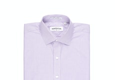 Purple Microcheck Shirt