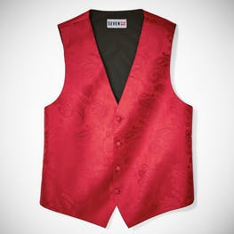 Ruby Valentino Paisley Vest