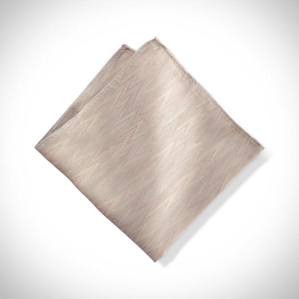 Biscotti Zig Zag Pocket Square
