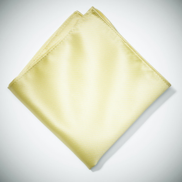Canary Pocket Square