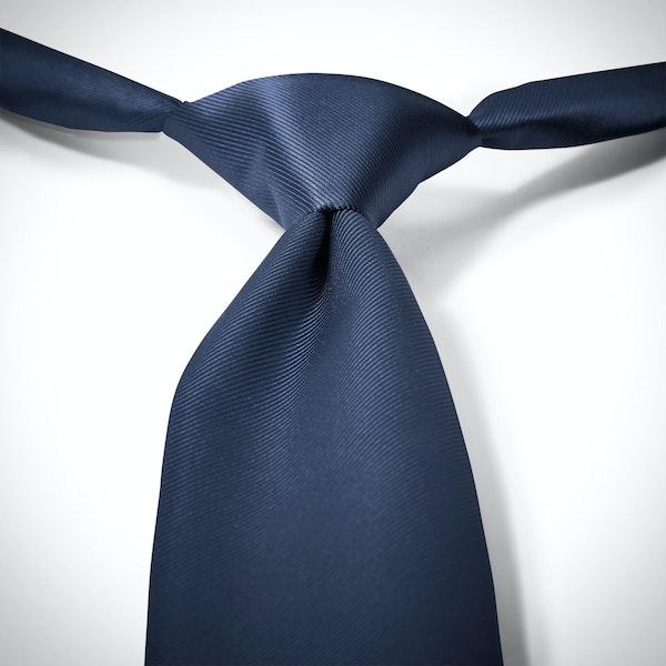 Dark Navy Pre-Tied Tie
