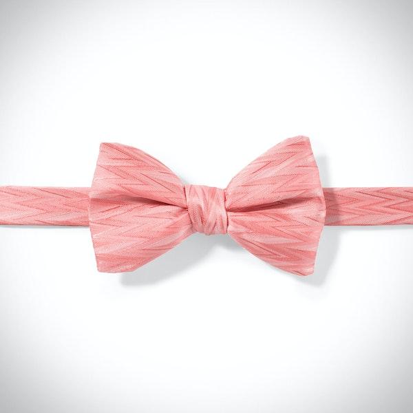 Coral Reef Zig Zag Pre-Tied Bow Tie