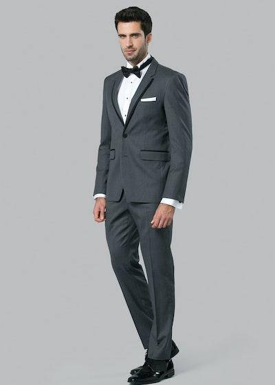 Charcoal Notch Lapel Tuxedo