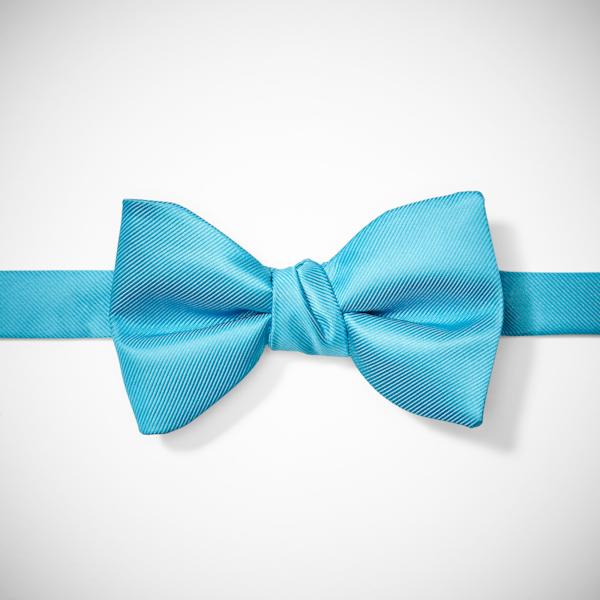 Malibu-Aqua Pre-Tied Bow Tie