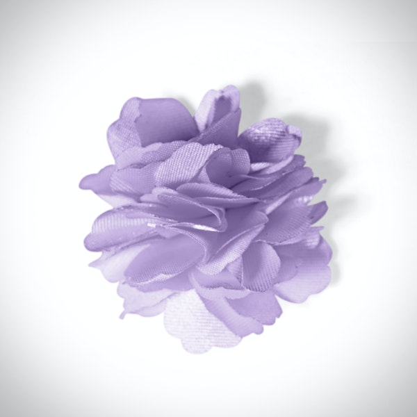 Lilac Carnation Lapel Pin