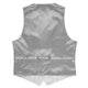 Gray Plaid Suit Vest